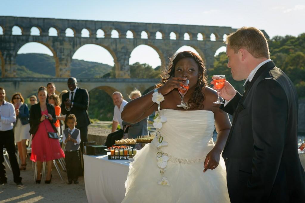 Mariage à Nîmes et au pont du Gard (3)