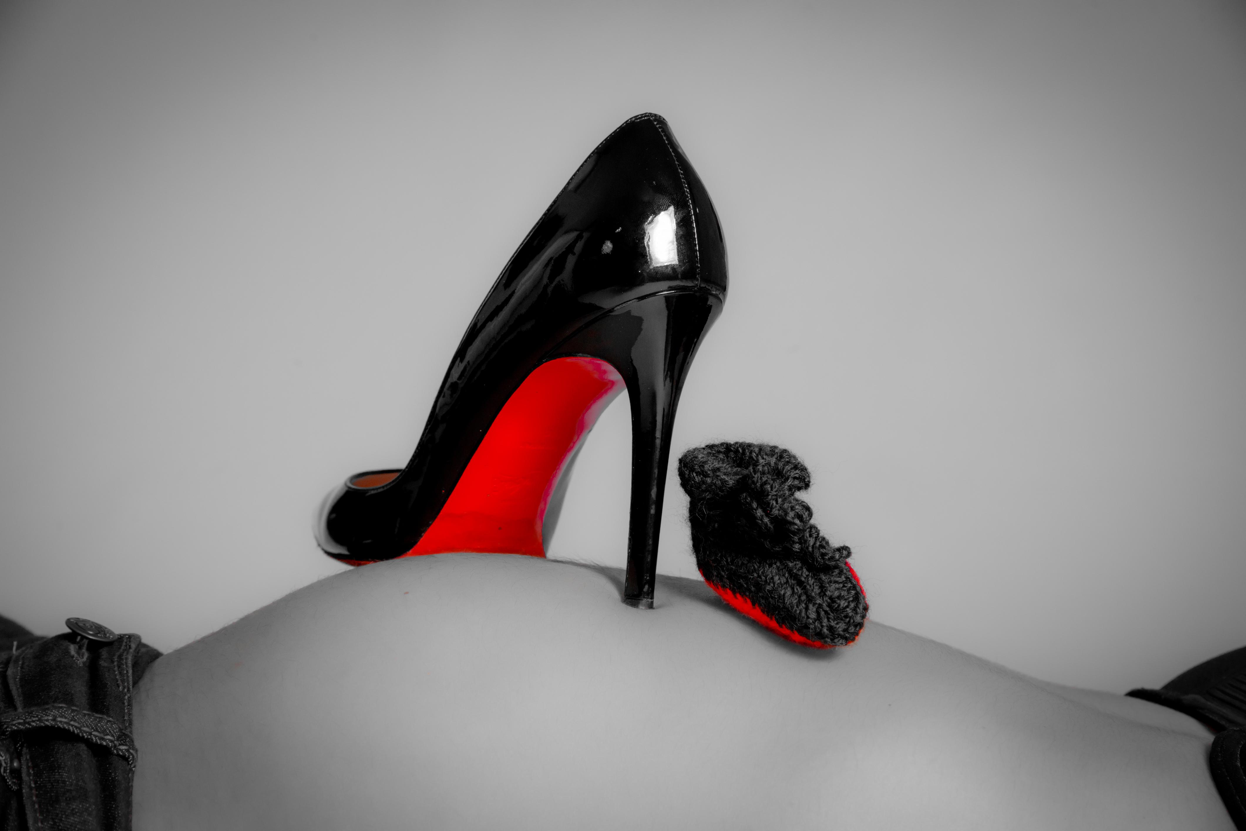 Chaussures de femmes enceintes