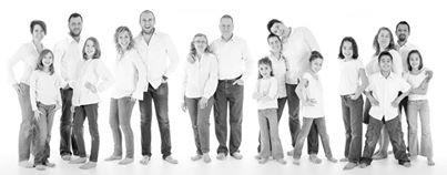 Portraits de famille en studio (2)