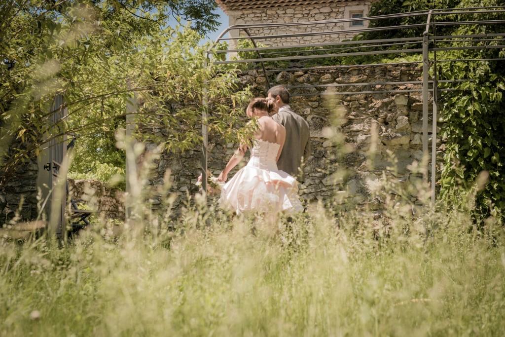 Mariage dans la drome provençale près de Marsanne au domaine de la Vivande (1)