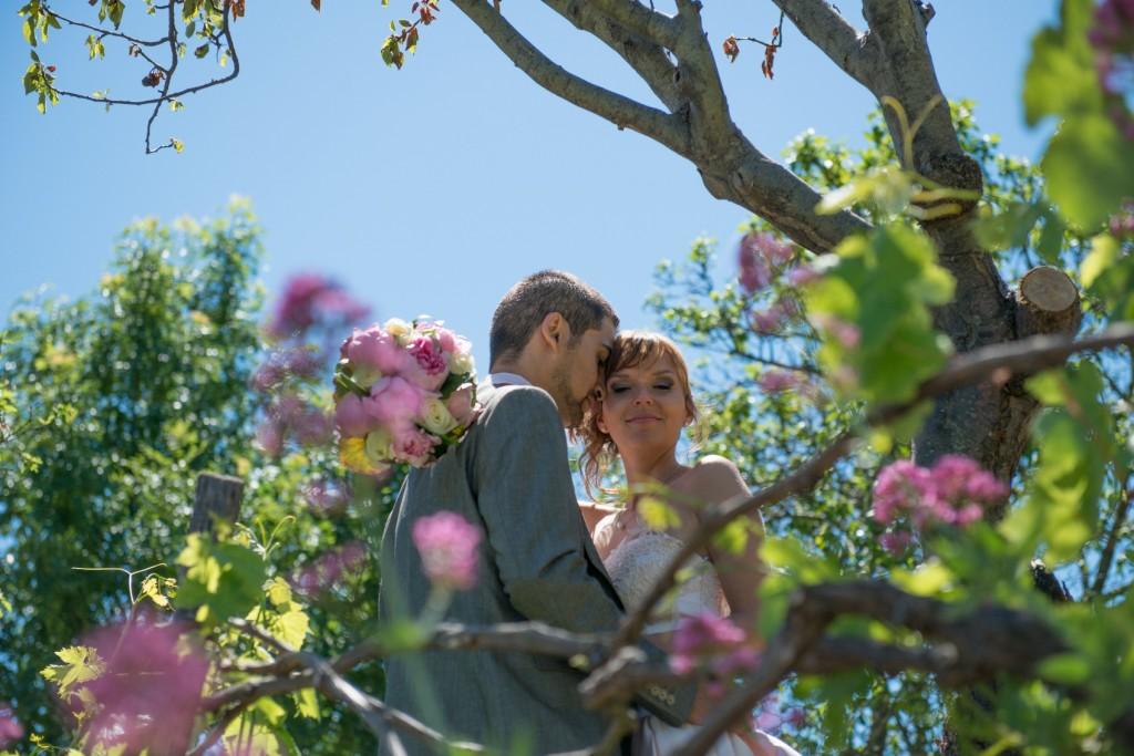 Mariage dans la drome provençale près de Marsanne au domaine de la Vivande (5)