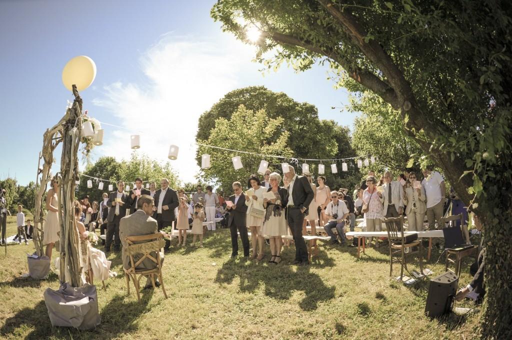 Mariage dans la drome provençale près de Marsanne au domaine de la Vivande (8)