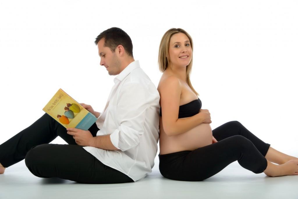 Séance grossesse, femme enceinte, studio (2)