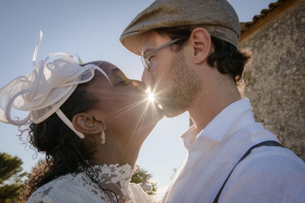 Mariage, photos de couple, extérieur (1)