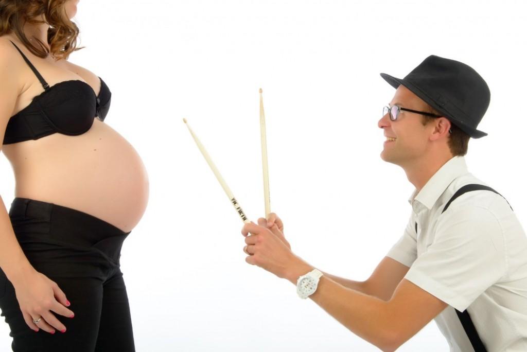 Séance grossesse, femme enceinte, studio (3)
