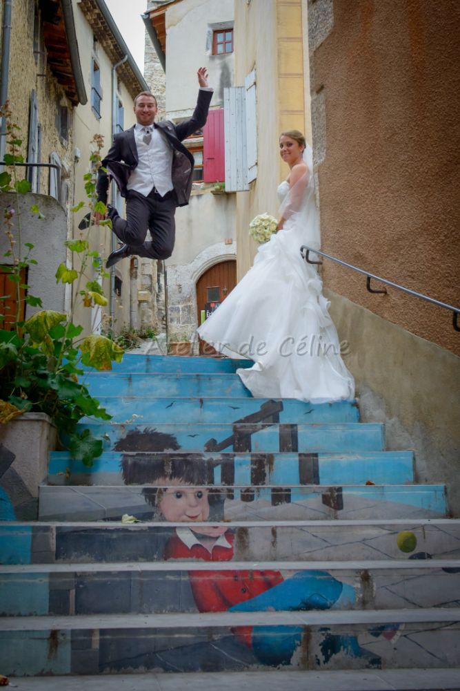 Mariage, couple, extérieur (8)
