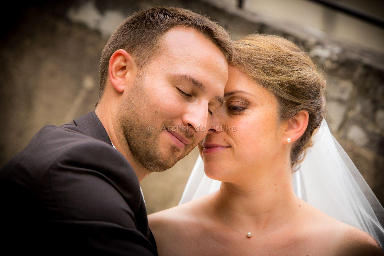 Mariage, couple, extérieur (7)