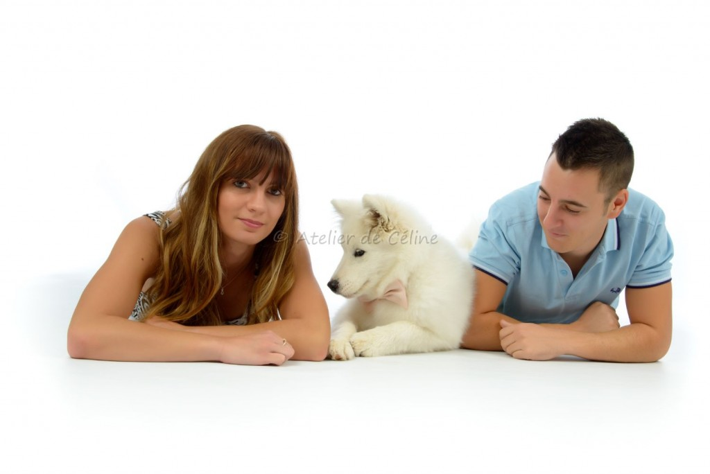 photos studio, couple, animaux (3)