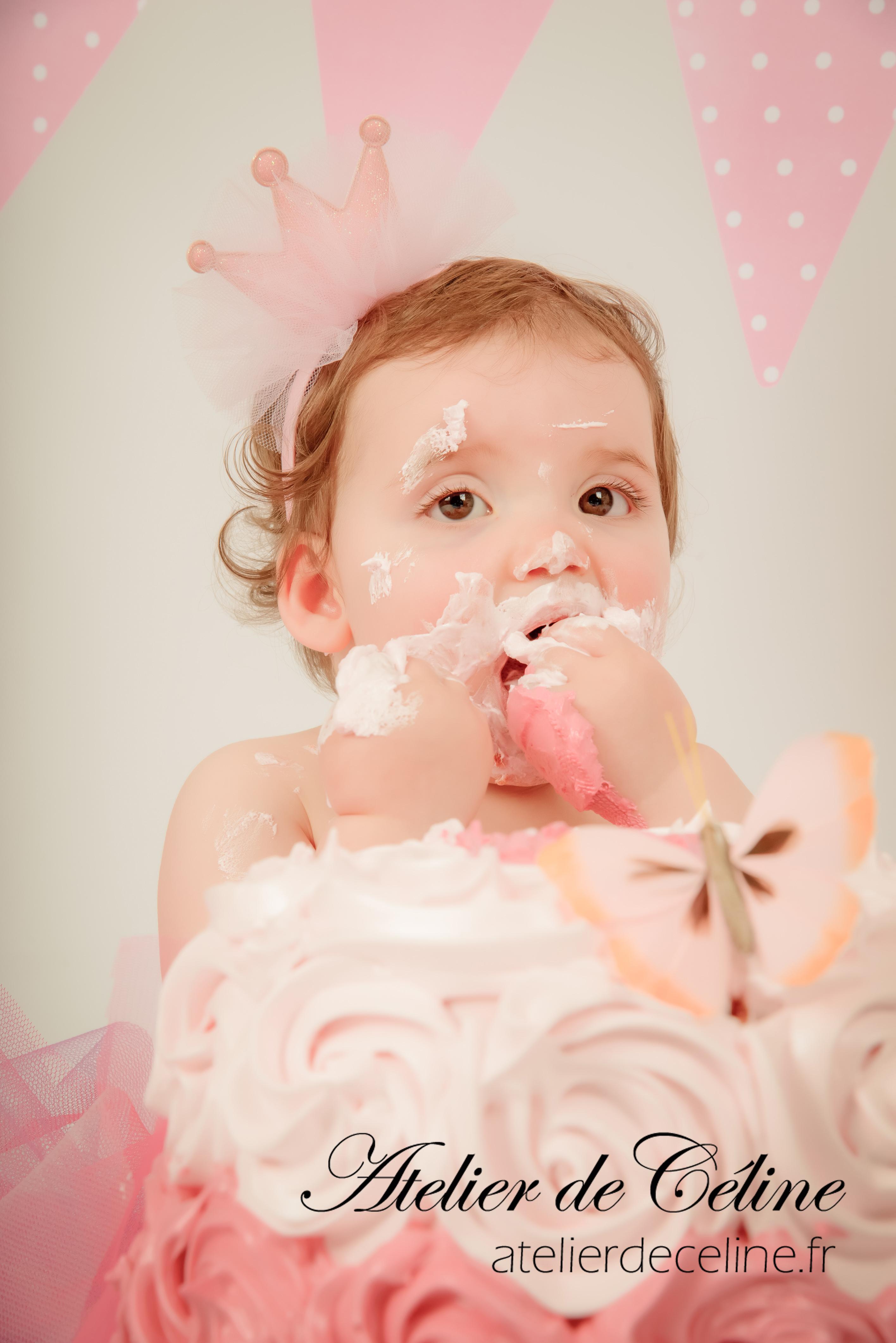 séance enfant, bébé, studio, smash The Cake (2)
