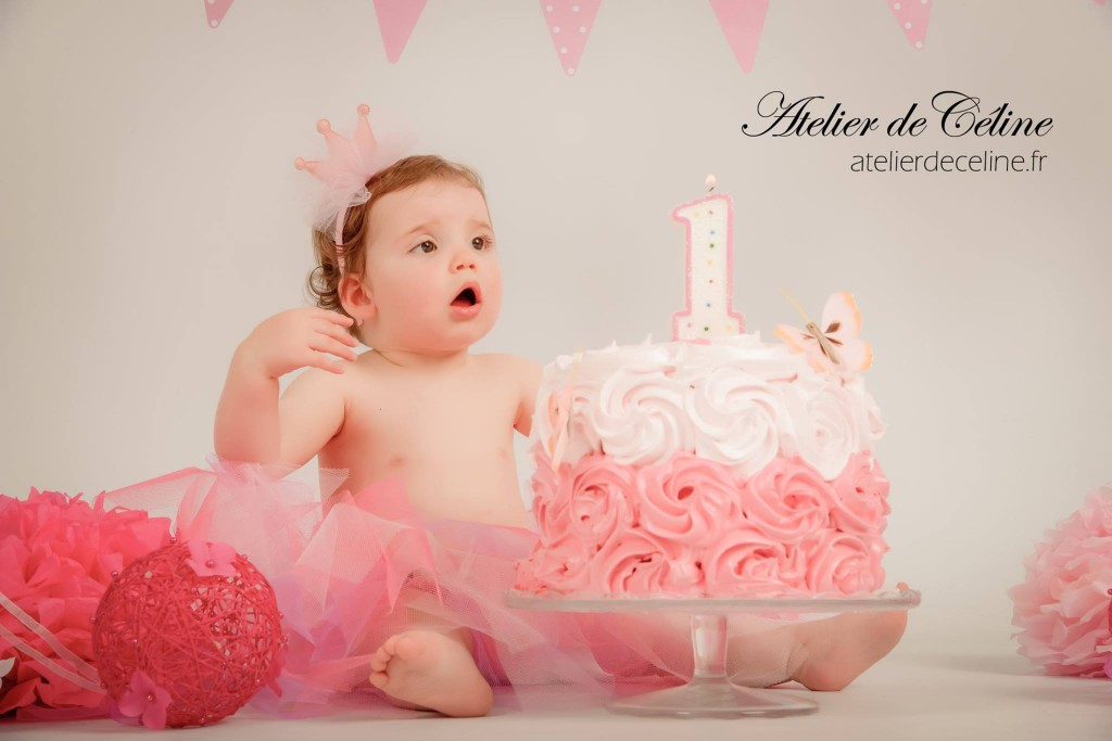 séance bébé, enfant, 1 an, studio, smash the cake (1)