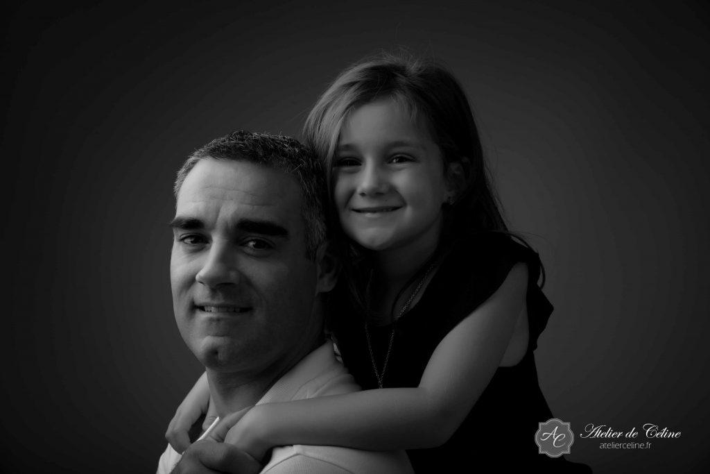 Séance famille, studio, 1 an, enfant (2)