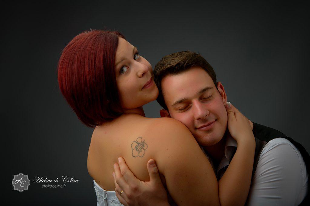 Séance photos studio, couple, mariage (3)
