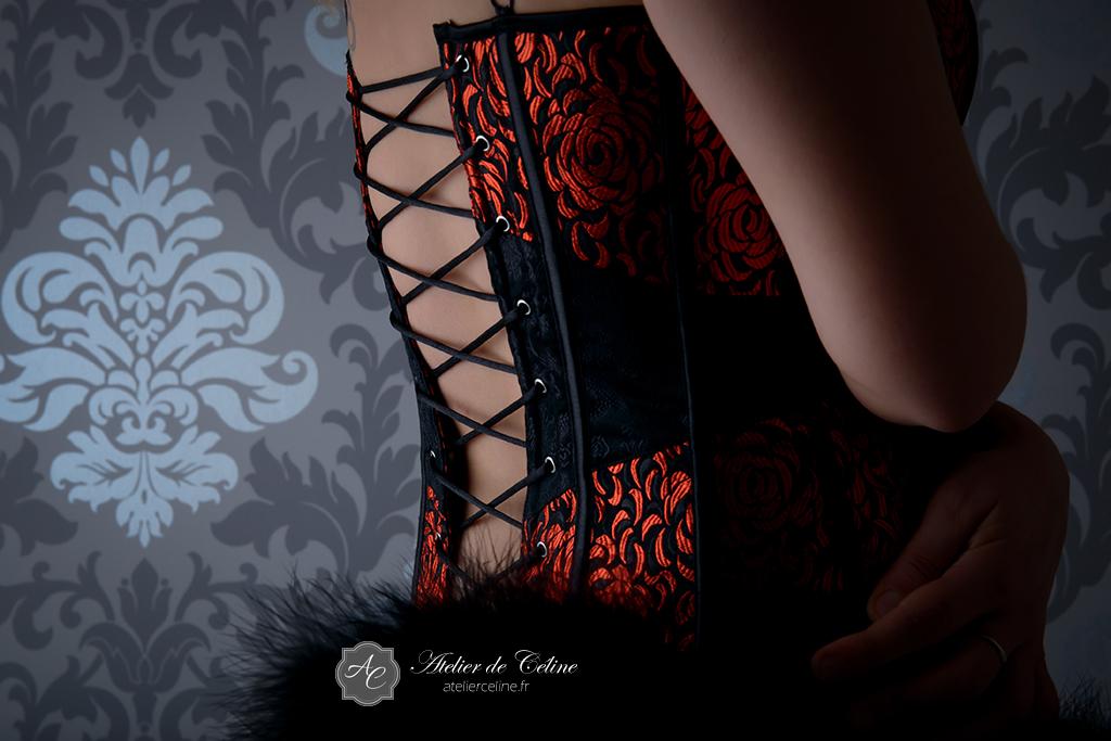 Séance boudoir, studio, femme, lingerie (1)