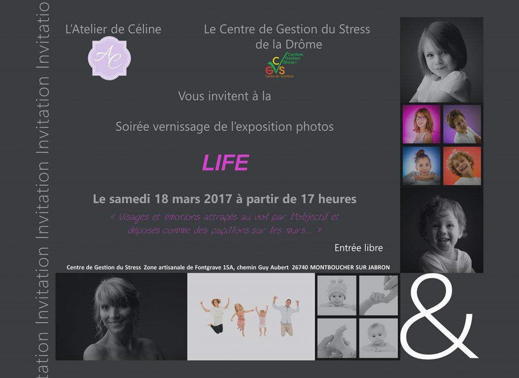 Newsletter Atelier de Céline, vernissage, exposition photos, cadres, famille, enfant (1)