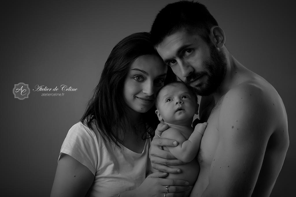 Séance New Born, bébé, studio, enfant, famille (1)