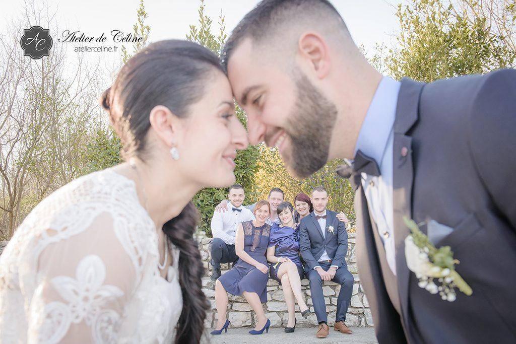 Photos couple, mariage, extérieur, famille (2)