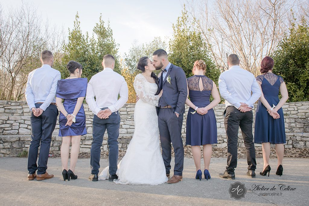 Photos couple, mariage, extérieur, famille (1)