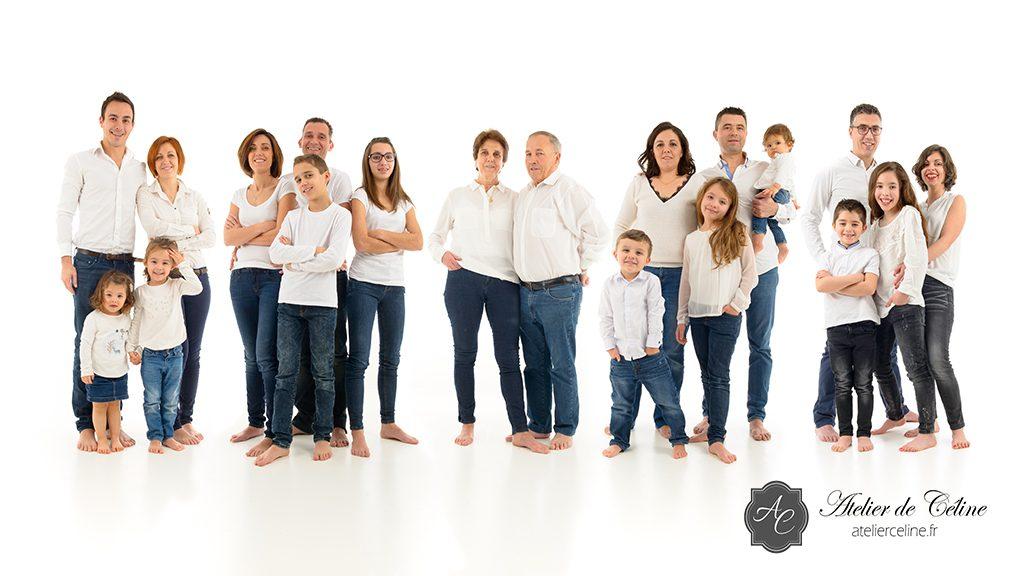 Séance famille, studio, enfants, parents (4)