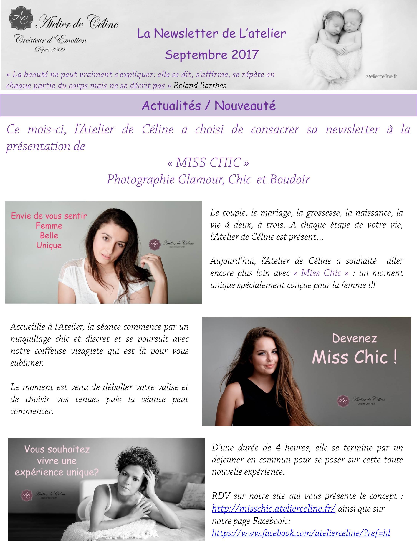 Miss Chic, portrait de femme, glamour, chic (1)