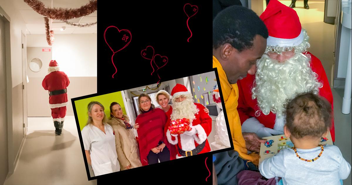 Séance studio, noël, enfant, bébé, famille, père noël (2)