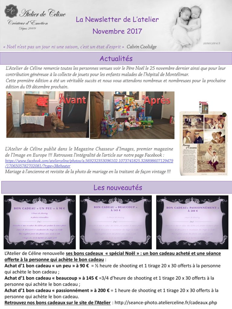 Newsletter photos studio bons cadeaux (1)