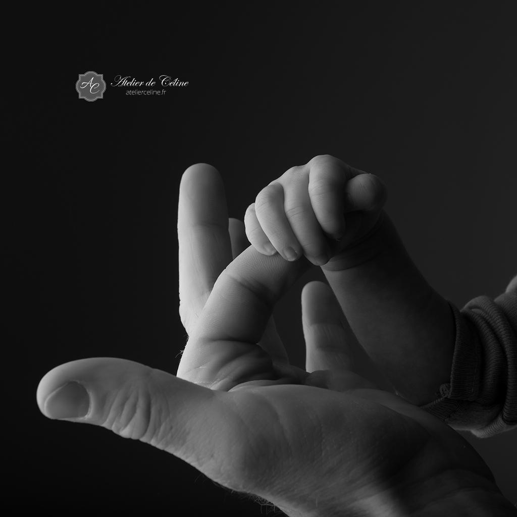 Séance studio New Born bébé enfant (2)