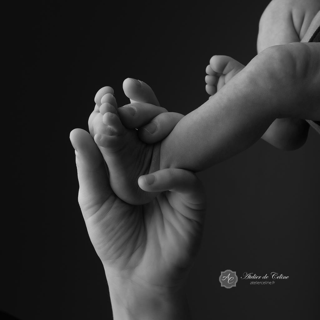 Séance studio New Born bébé enfant (1)