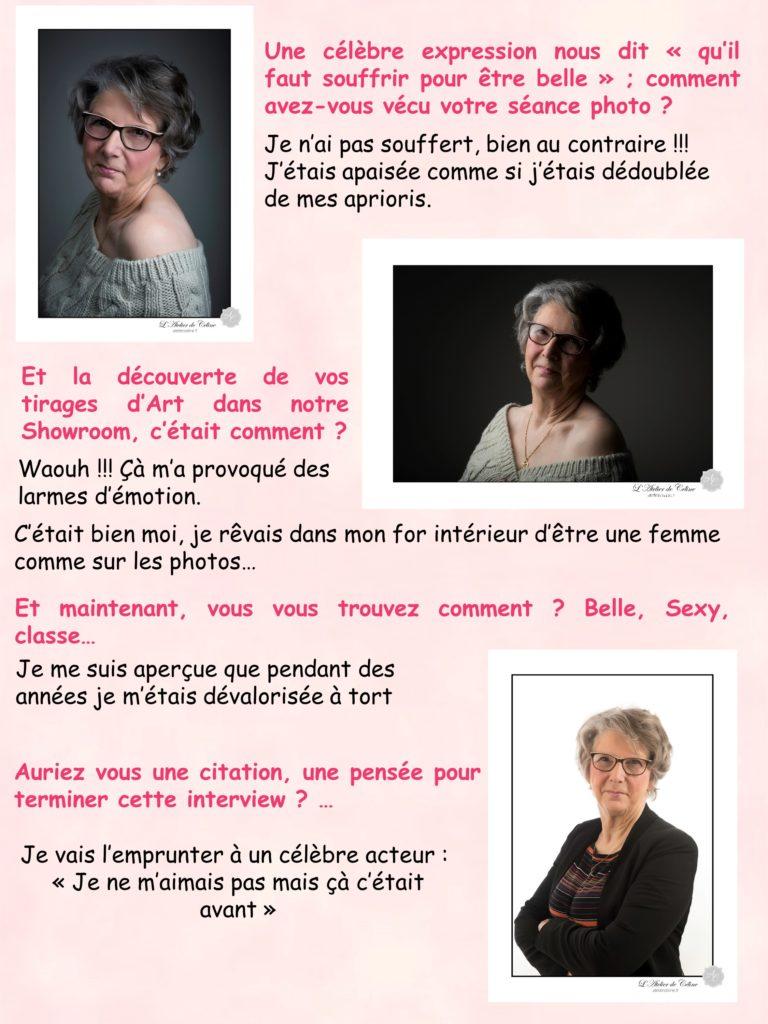 Studio, portrait de femme, femme, éphémère, Miss Chic (2)