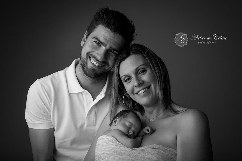 Séance studio, bébé, New Born, Famille (2)