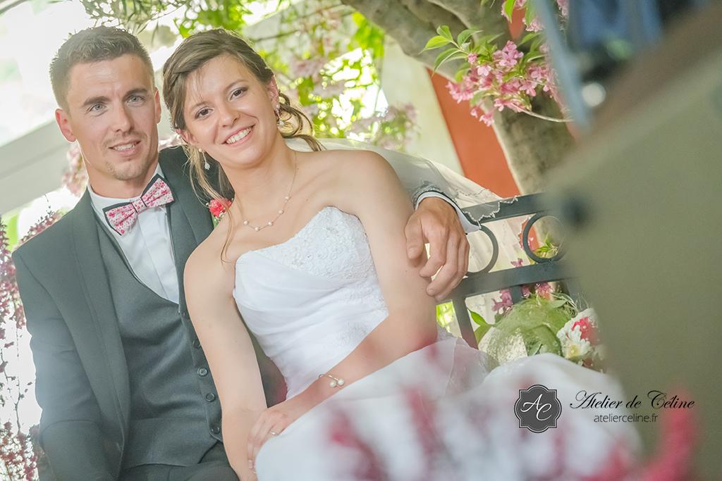 Mariage, cérémonie religieuse, couple, extérieur, église (7)