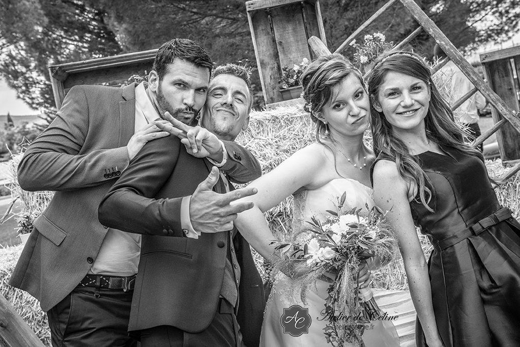 Mariage, famille, groupe, extérieur (2)