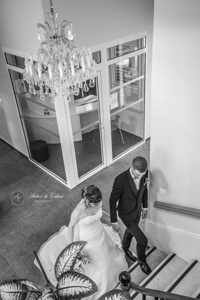 Mariage, couple, extérieur, mairie, cérémonie civile (7)