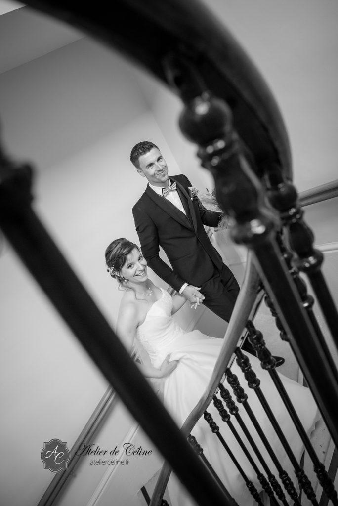 Mariage, couple, extérieur, mairie, cérémonie civile (6)