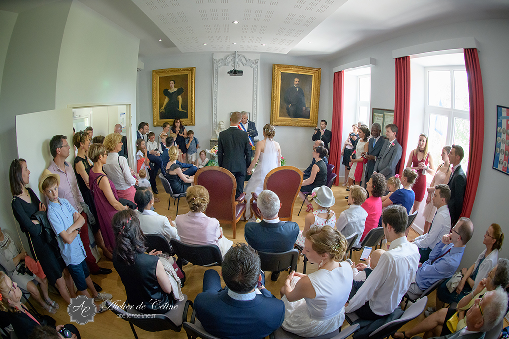 Mariage, couple, extérieur, mairie, cérémonie civile (5)
