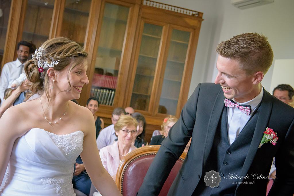 Mariage, couple, extérieur, mairie, cérémonie civile (4)