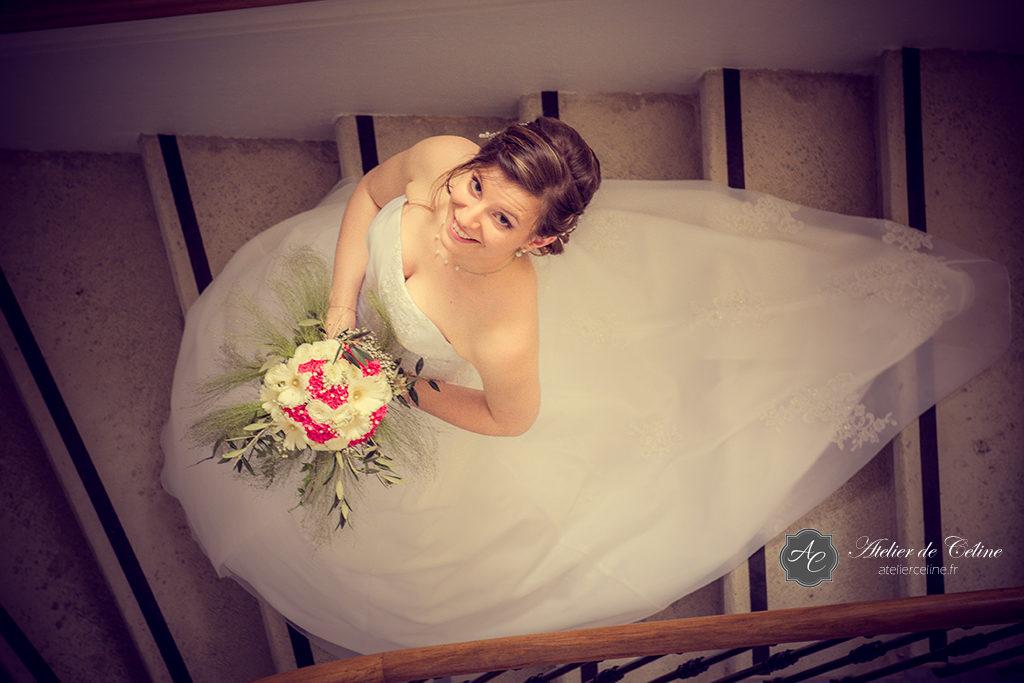 Mariage, couple, extérieur, mairie, cérémonie civile (2)
