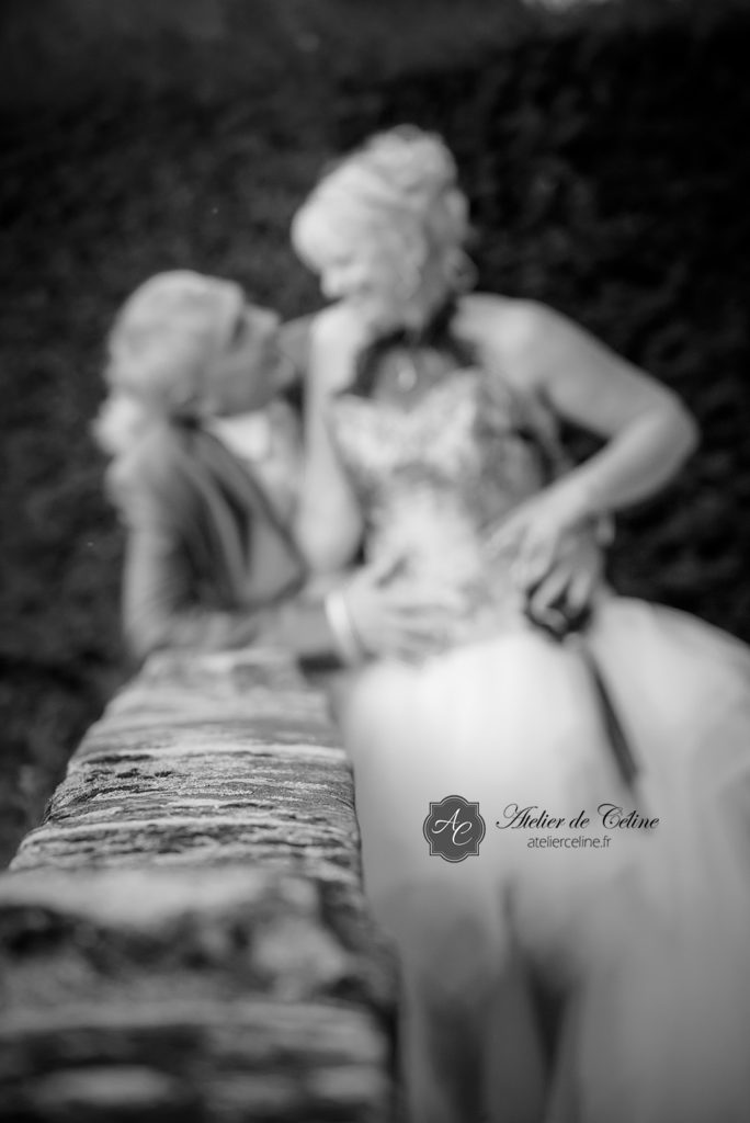 Mariage, couple, homme, femme, promenade, photos (2)