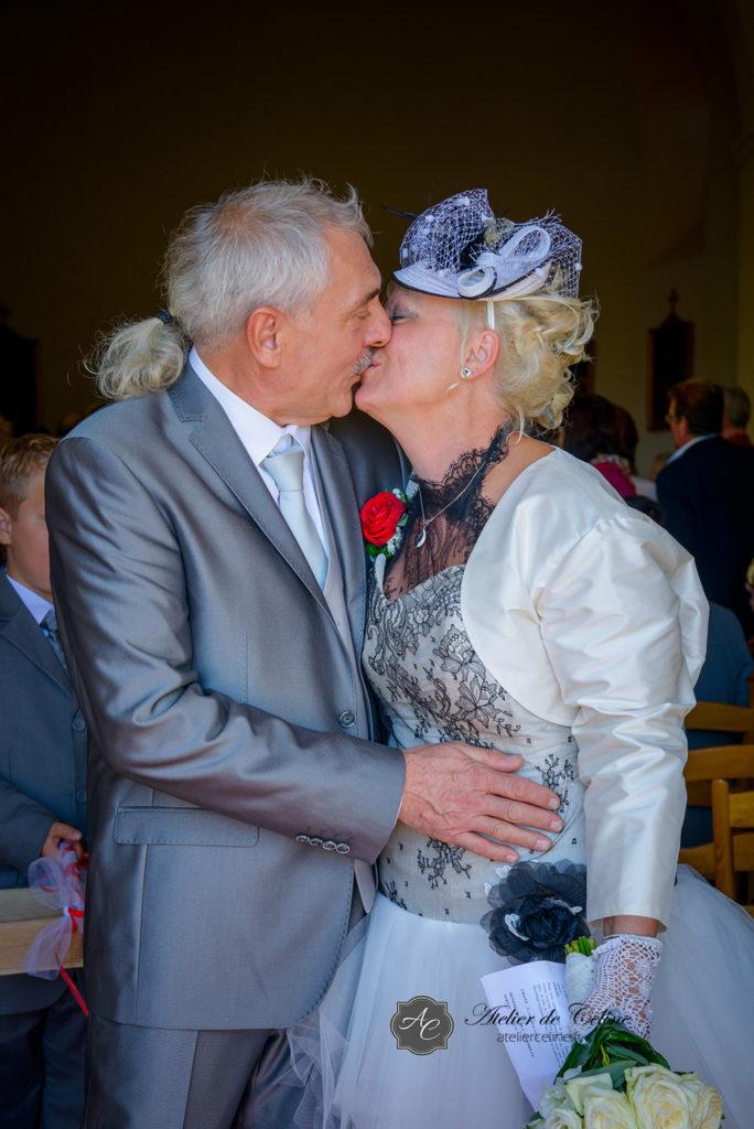 Mariage, cérémonie religieuse, église, couple (1)