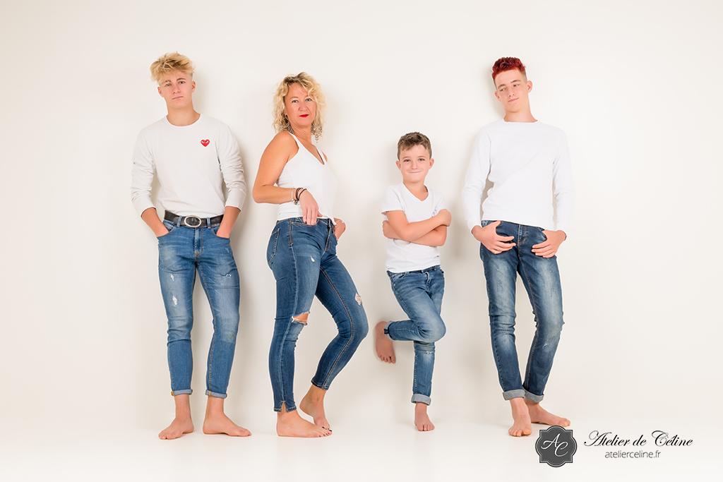 Séance studio, extérieur, enfant, famille (3)