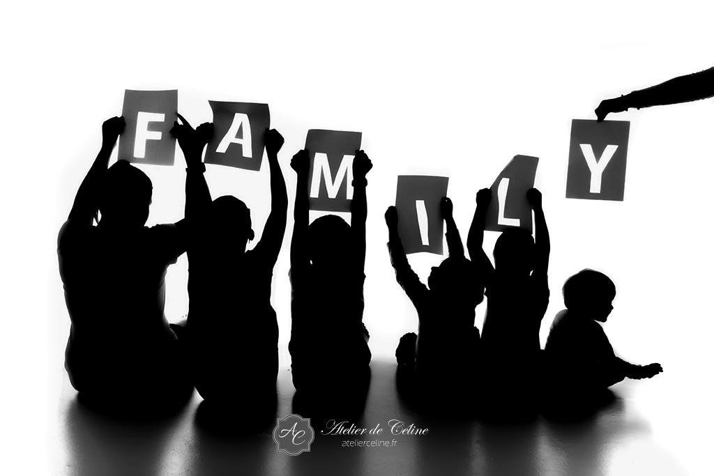 Séance famille, studio, enfants, parents, fille, garçon (1)