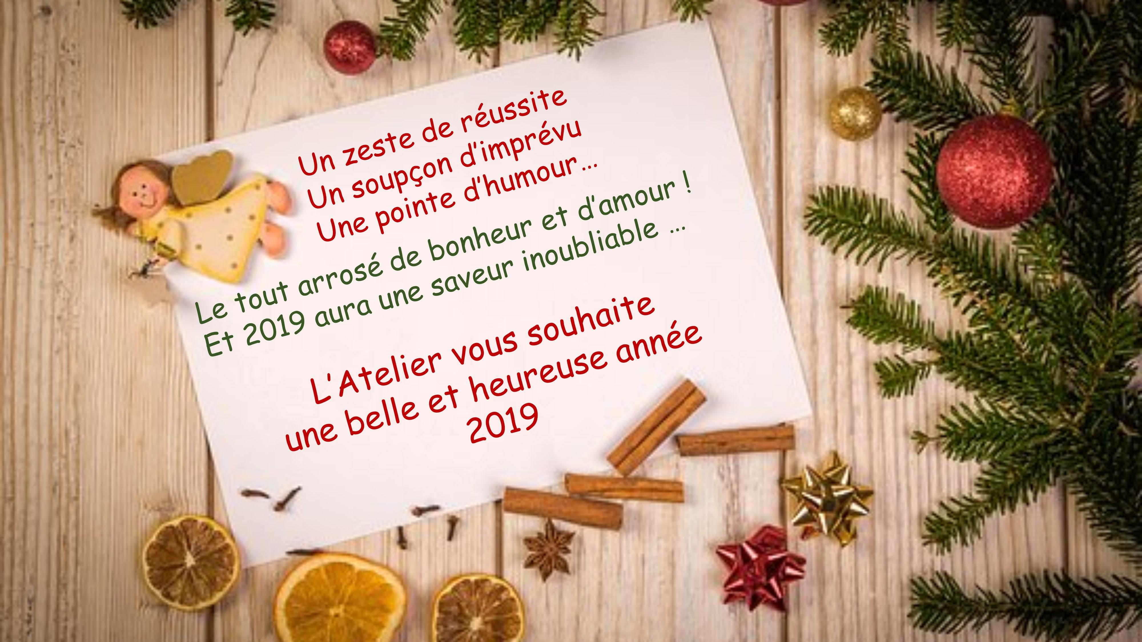 Voeux Atelier, séance, 2019 (1)