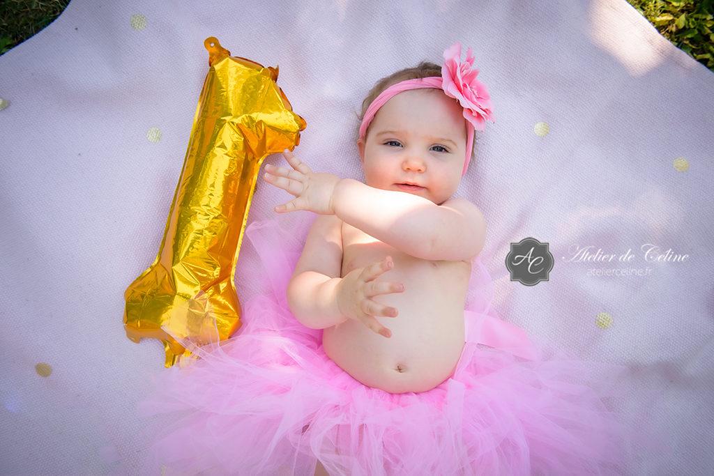 Séance Smash The Cake, enfant, bébé, 1 an, studio, extérieur (6)