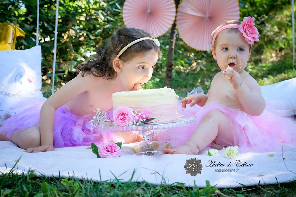 Séance Smash The Cake, enfant, bébé, 1 an, studio, extérieur (4)