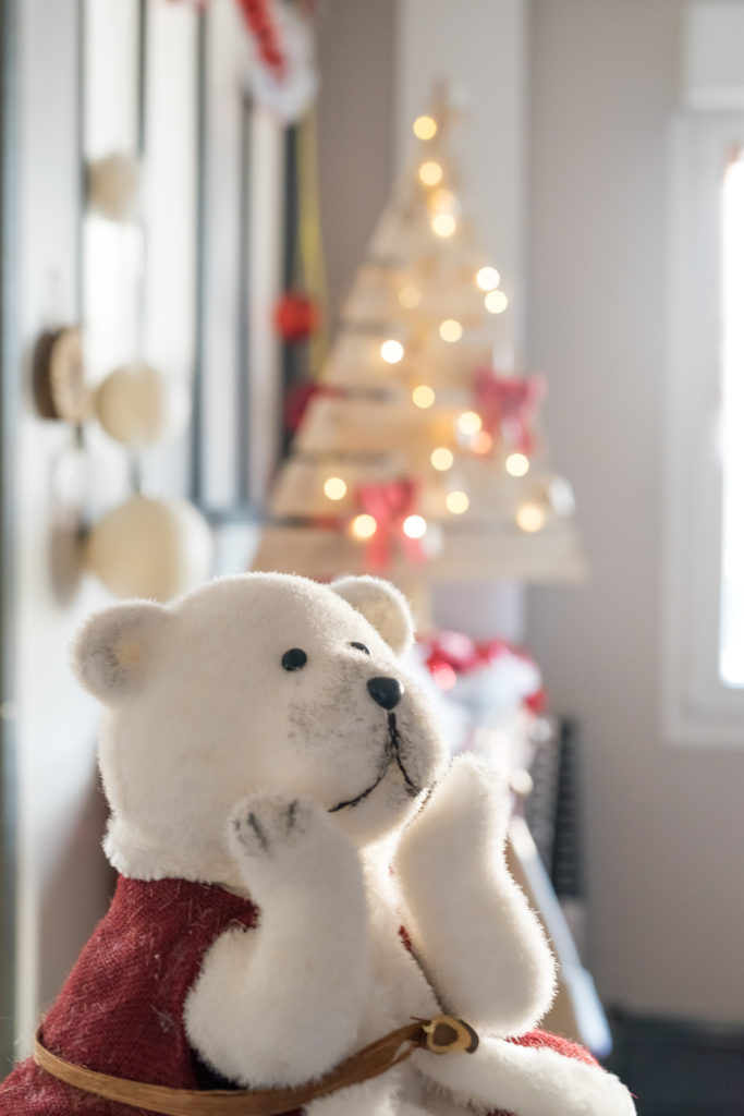 Noël, sapin, studio